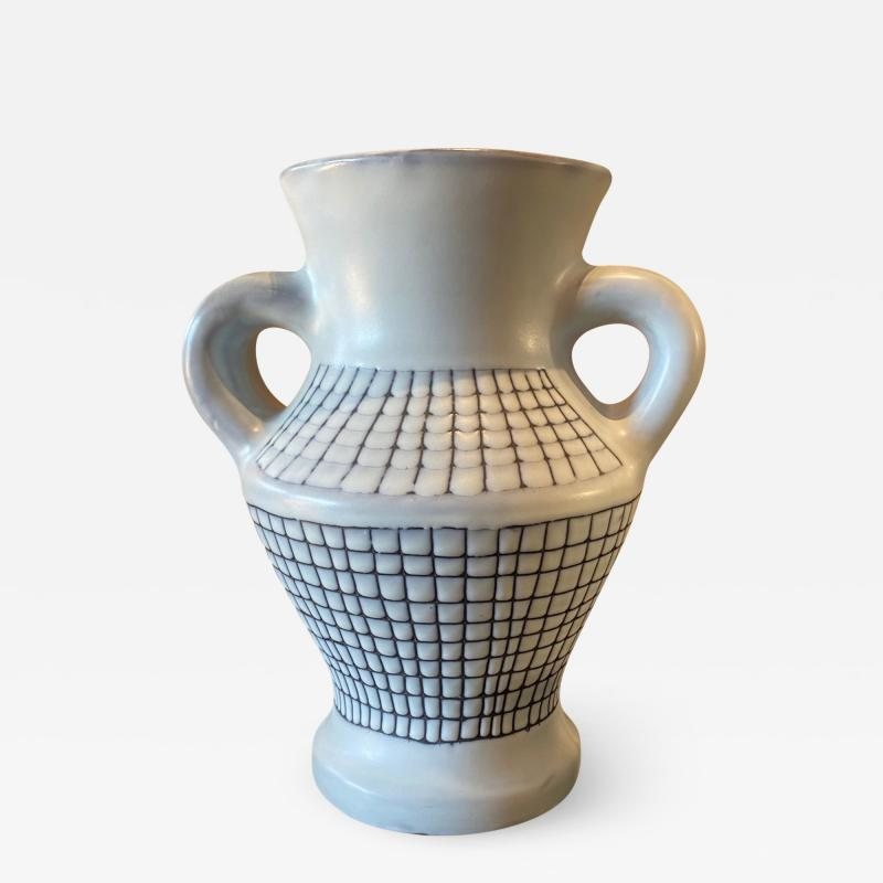 Roger Capron Ceramic vase France 1960s