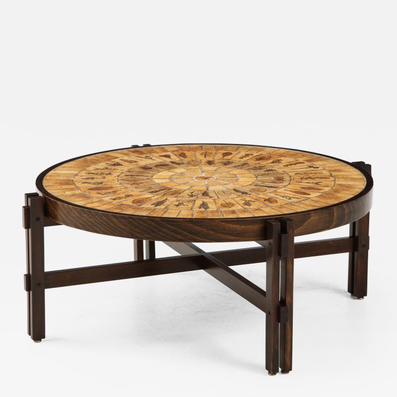 Roger Capron Roger Capron Mid Century Modern Coffee Table