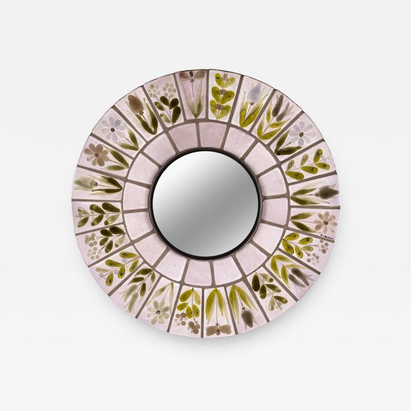 Roger Capron Roger Capron Mirror circa 1970 France