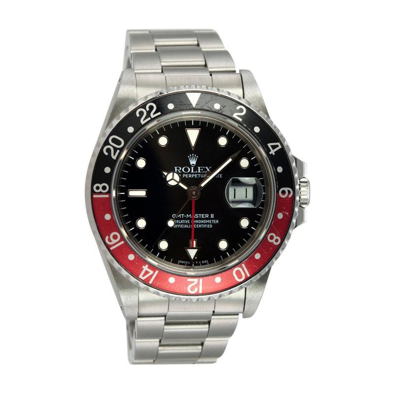 Rolex Rolex GMT Master II Watch Ref 16760 Circa 1984
