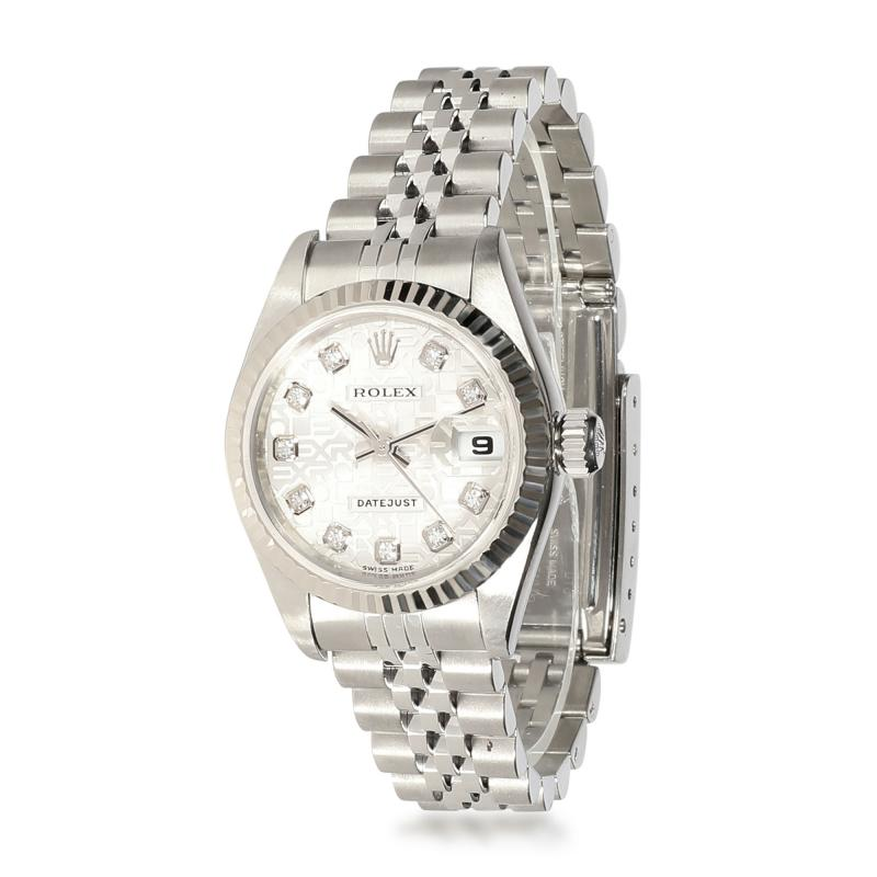 Rolex Watch Co Rolex Datejust 79174 Womens Watch in 18kt Stainless Steel White Gold