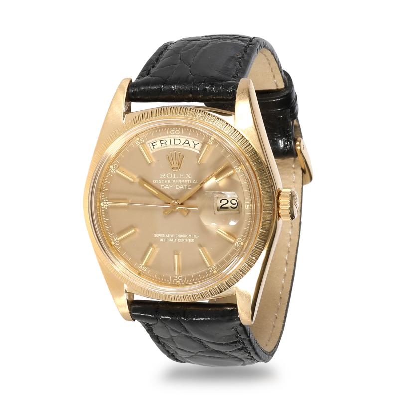 Rolex Watch Co Rolex Day Date 1807 Mens Watch in 18kt Yellow Gold