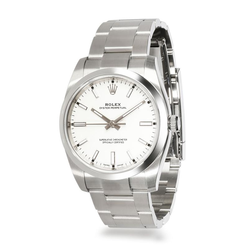 Rolex Watch Co Rolex Oyster Perpetual 114200 Mens Watch in Stainless Steel