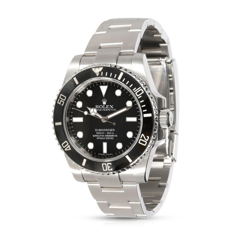 Rolex Watch Co Rolex Submariner 114060 Mens Watch in Stainless Steel
