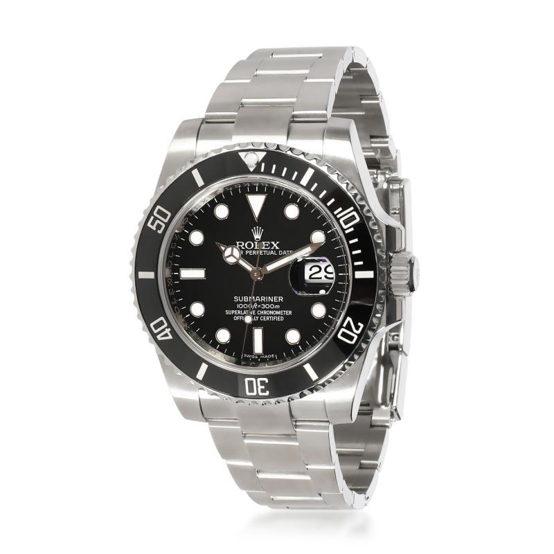 Rolex Watch Co Rolex Submariner 116610LN Mens Watch in Stainless Steel