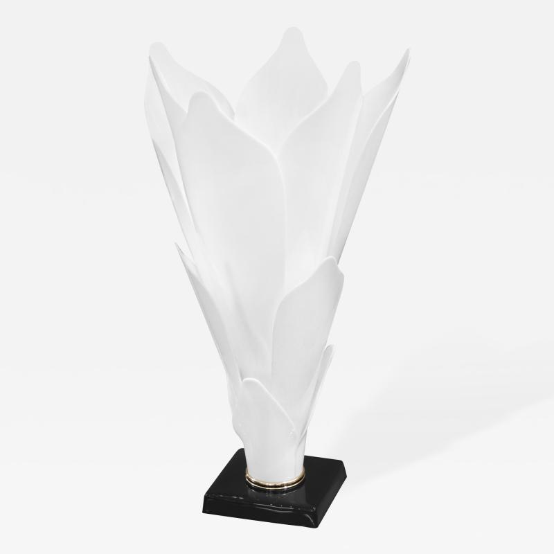 Rougier Sculptural Flower Table Lamp by Rougier