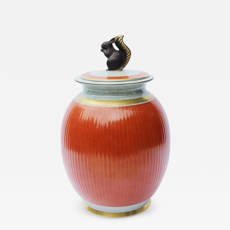 Royal Copenhagen An Amusing Jar and Cover
