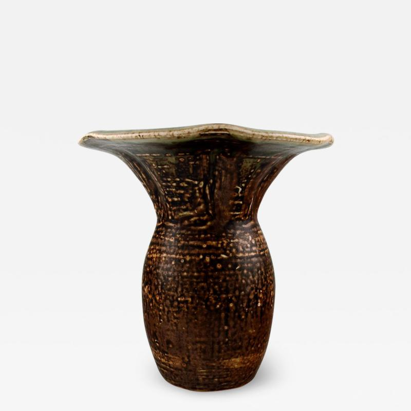 Royal Copenhagen Royal Copenhagen ceramic vase by Carl Halier or Patrick Nordstr m