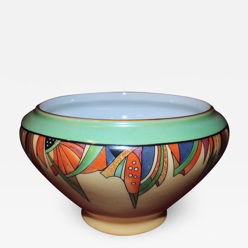 Royal Rochester Modernistic Art Deco Royal Rochester Batter Bowl