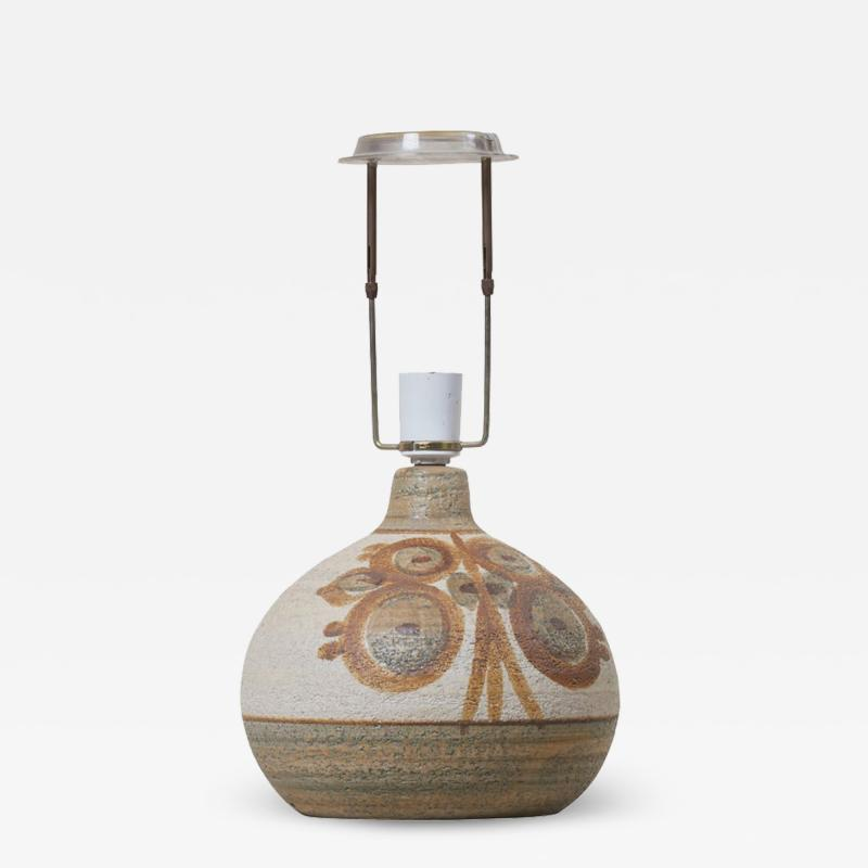 S holm Stent j Soholm ceramics Ceramic Table Lamp by Soholm Denmark Marked