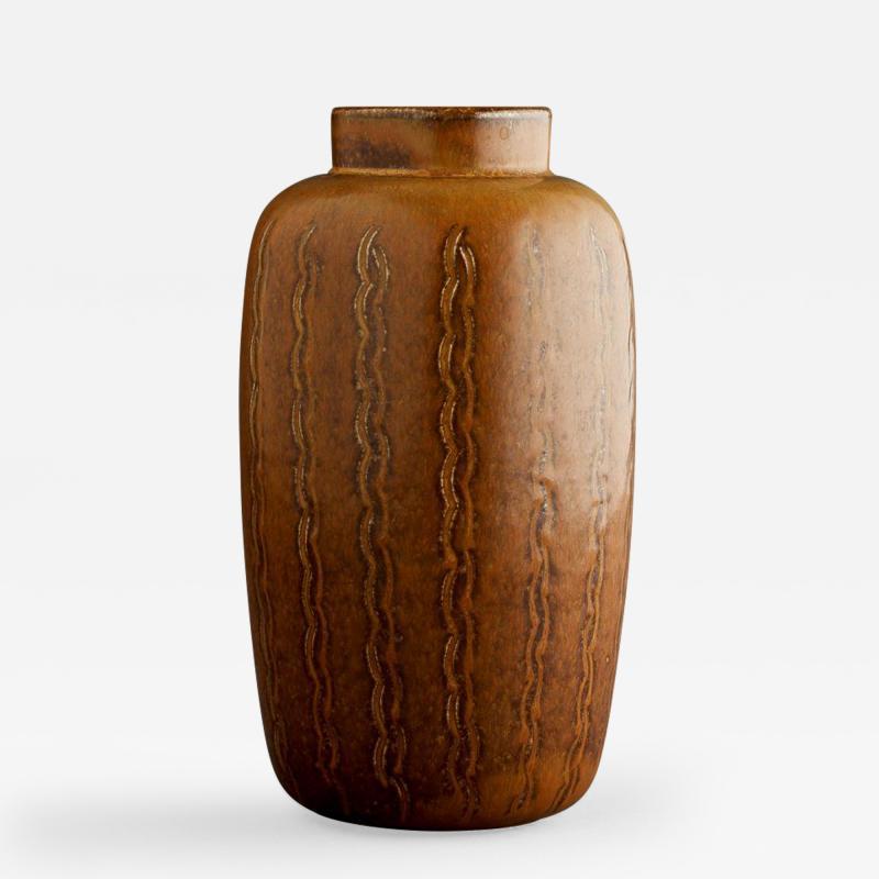 Saxbo Eva Staehr Nielsen for Saxbo Rust Ceramic Vase