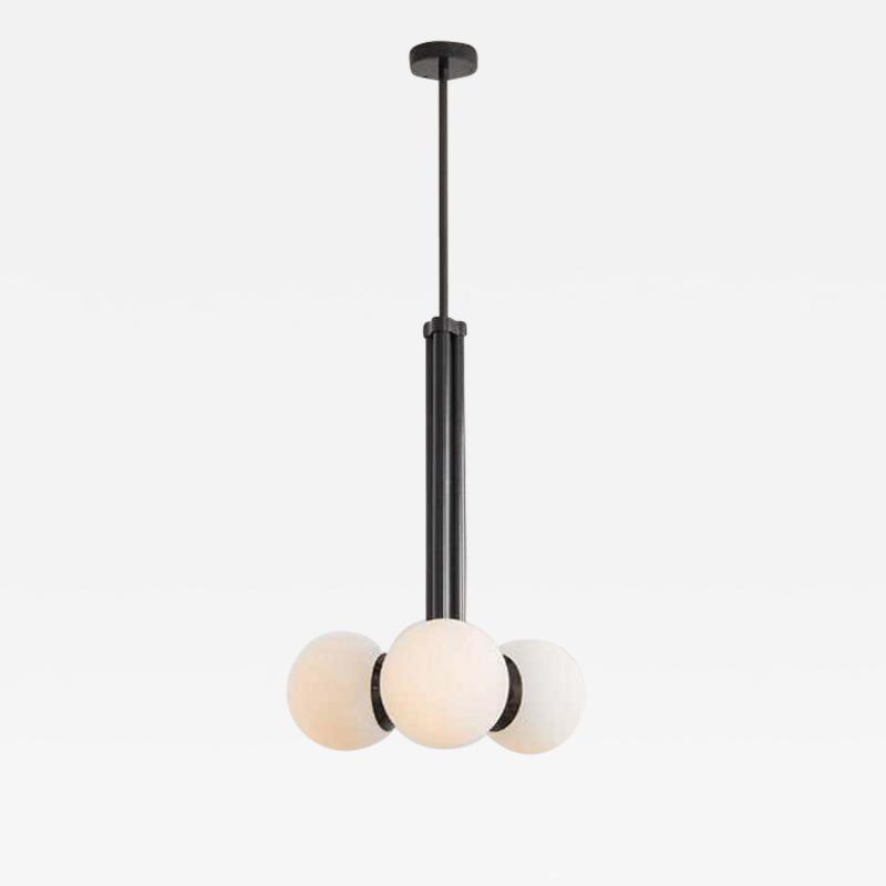 Schwung Black Contemporary Pendant Light by Schwung