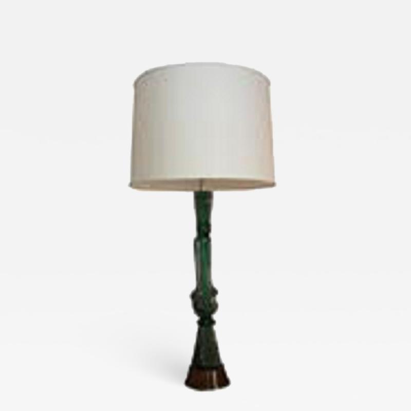 Seguso Seguso Tabe Lamp Mid Century Modern Murano Art Glass Italy 1950s