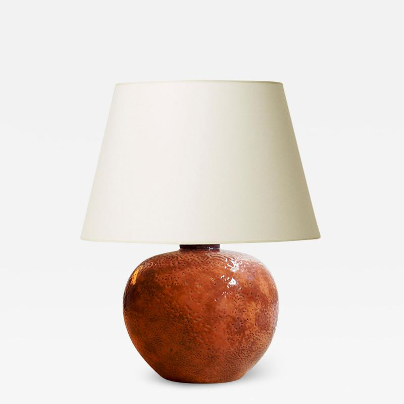 Sevres Manufacture Nationale de S vres Petite table lamp by S vres