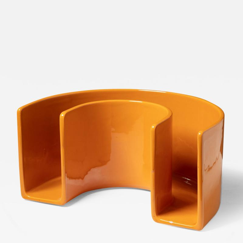 Sicart Ceramic Magazine Rack by Sicart