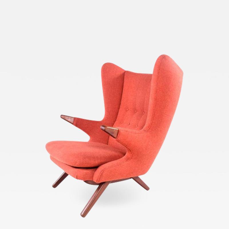 Skipper Model 91 Papa Bear Lounge Chair by Svend Skipper