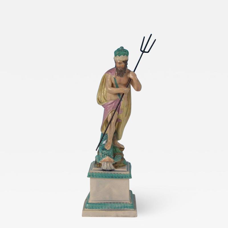 Staffordshire Staffordshire Pearlware Neptune Figure