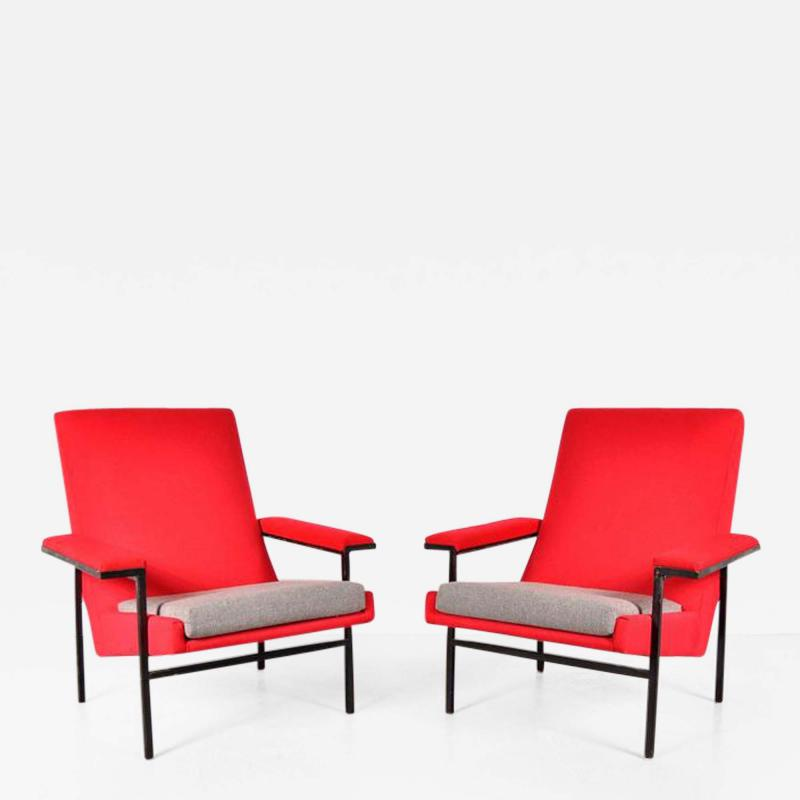 Steiner 1950s Pair of ARP Chairs for Steiner France