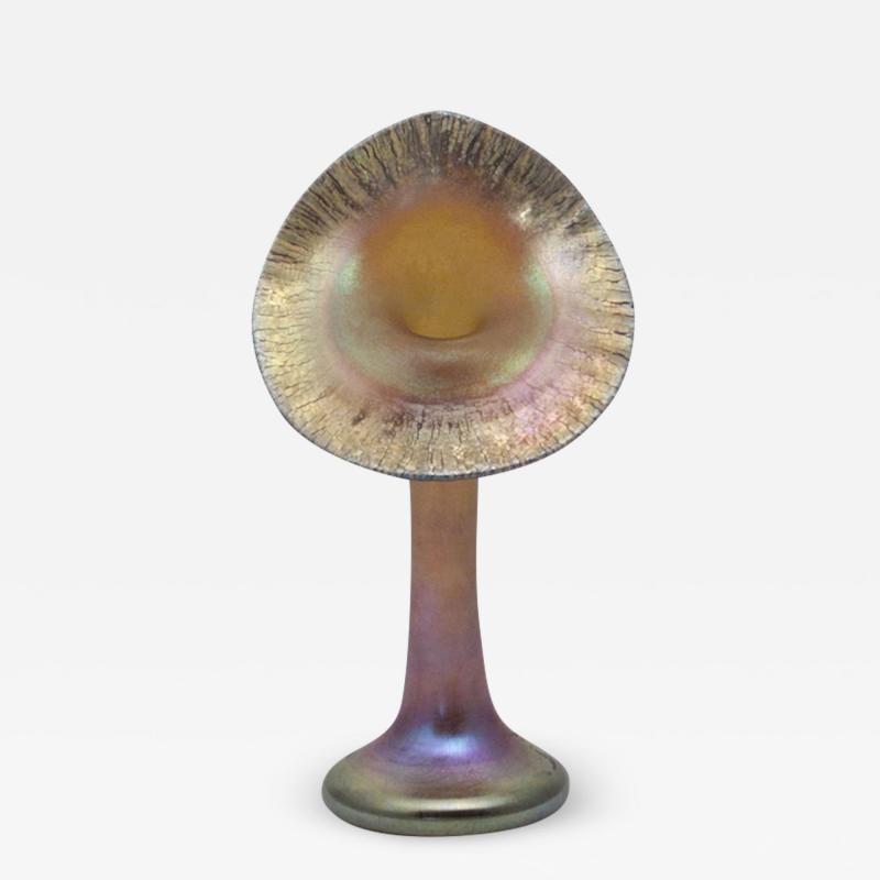 Steuben Glass Cabinet Jack in the Pulpit Vase