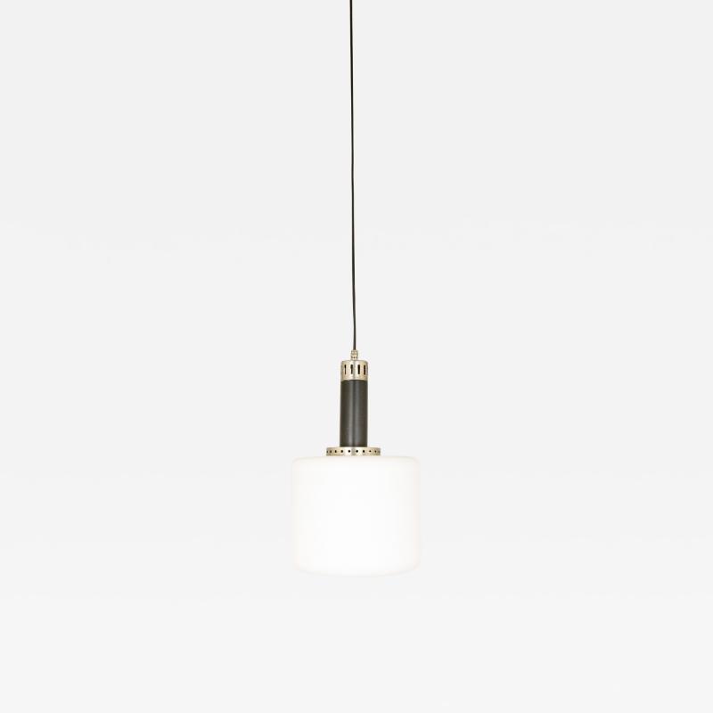 Stilnovo Opaline glass pendant by Stilnovo 1950s