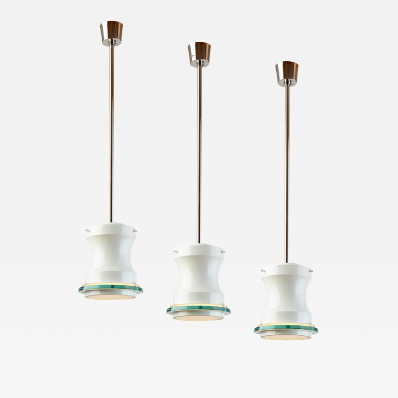 Stilnovo Set of Five Stilnovo Lanterns Italy 1960s