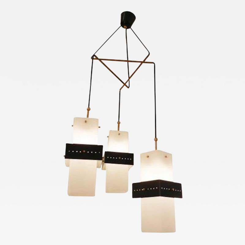 Stilnovo Stilnovo Mid Century Mobile Shaped Chandelier