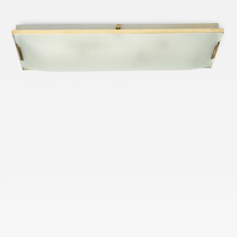 Stilnovo Stilnovo rectangular flush mount