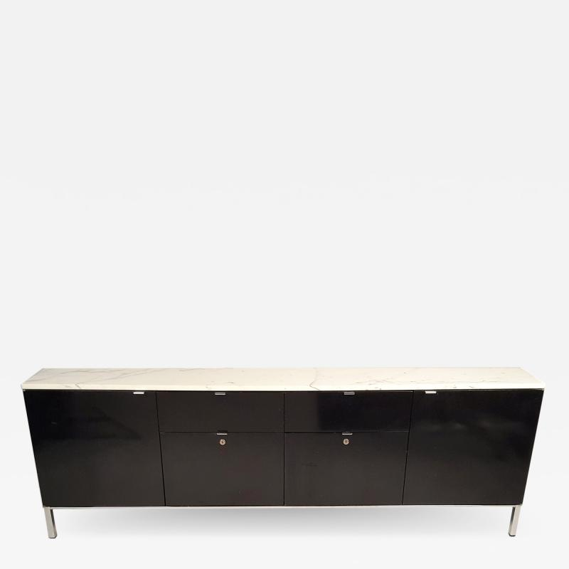 Stow Davis Furniture Co Florence Knoll Style Credenza with Matching File Cabinet by Giacomo Buzzitta