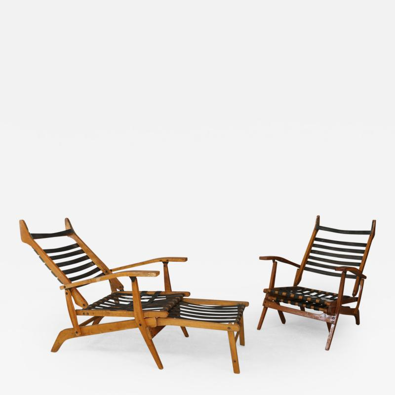 Studio BBPR Folding chairs and deckchairs by BBPR YEARS 50