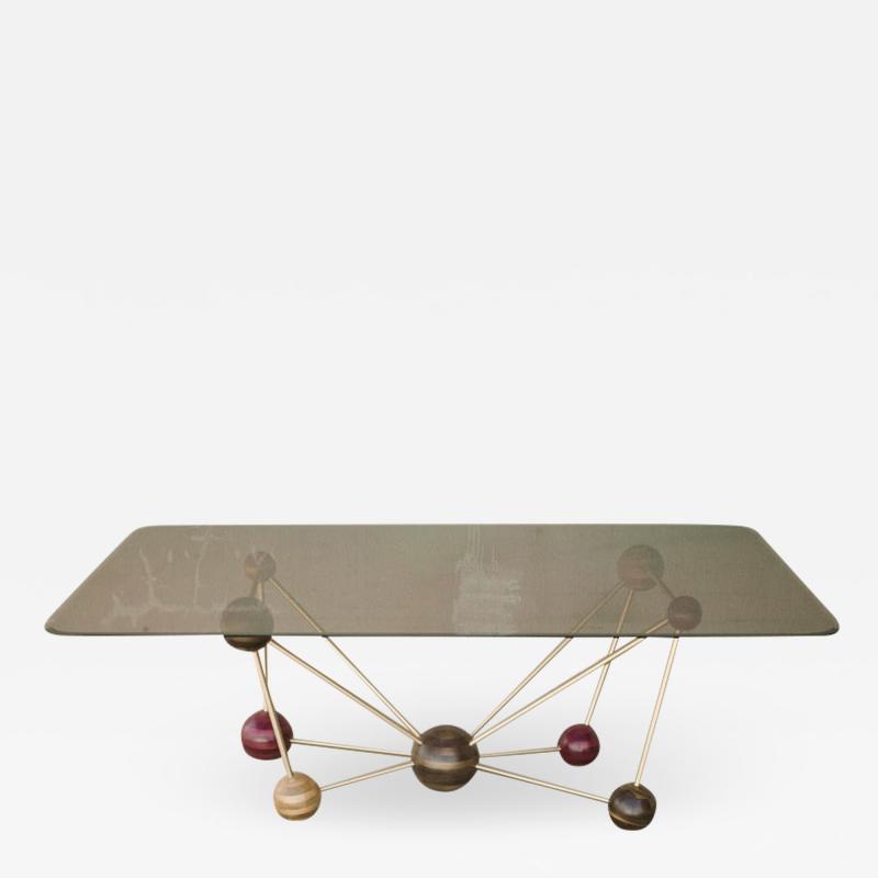 Studio Manda Molecule Dining Table by Studio Manda