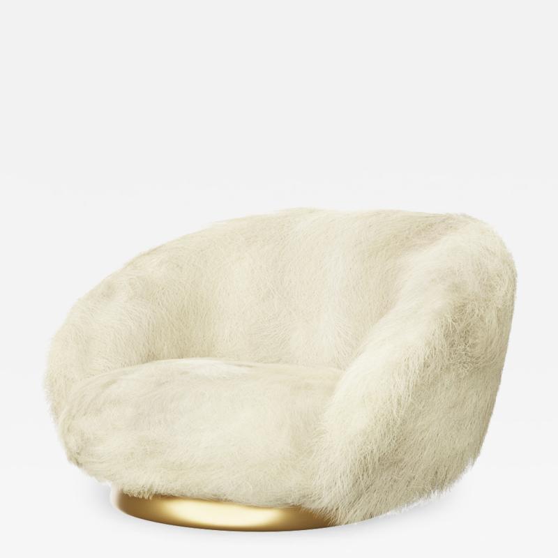 Studio SORS ELF Lougne Chair Angora Cream