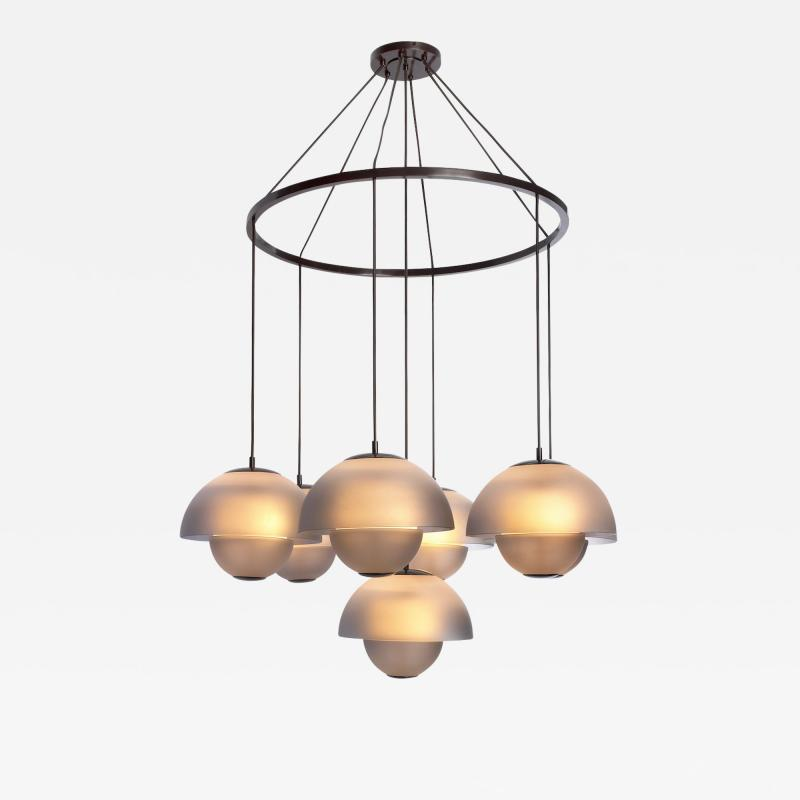 Studio Van den Akker The Gilles Chandelier by Studio Van den Akker