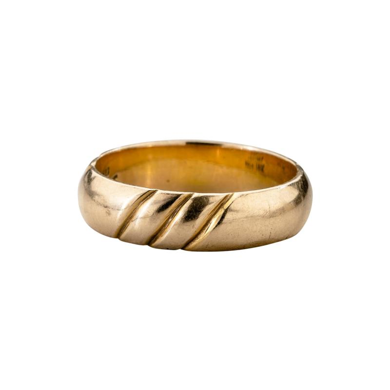 The Kalo Shop American Arts Crafts Kalo Gold Band