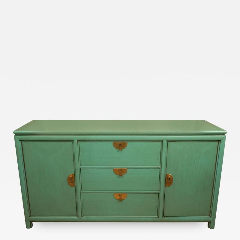 Thomasville Furniture Turquoise Chest by Thomasville