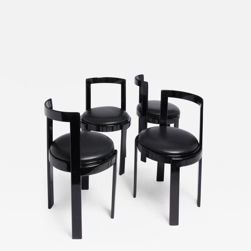 Thonet Barrel Back Chair Set of 4