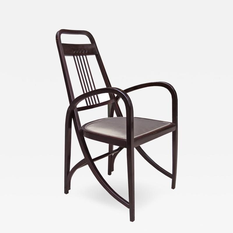 Thonet Vienna Secession Thonet Bentwood Arm Chair