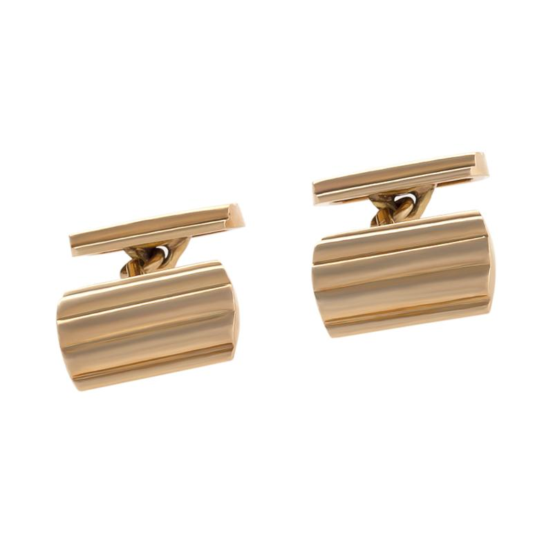 Tiffany Co Mid Century Gold Cuff Links