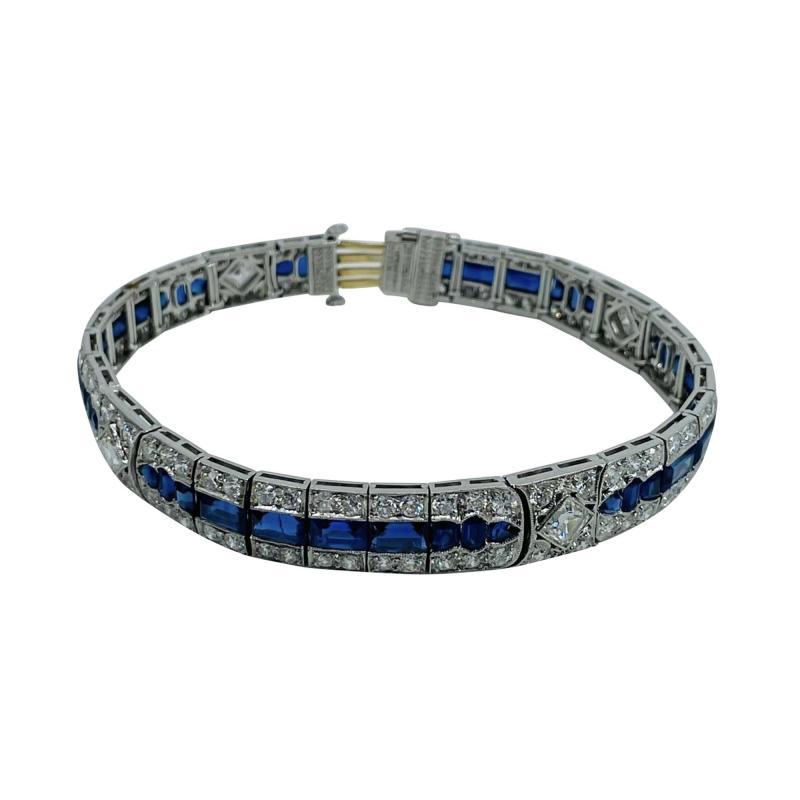 Tiffany Co Platinum Tiffany Art Deco Bracelet