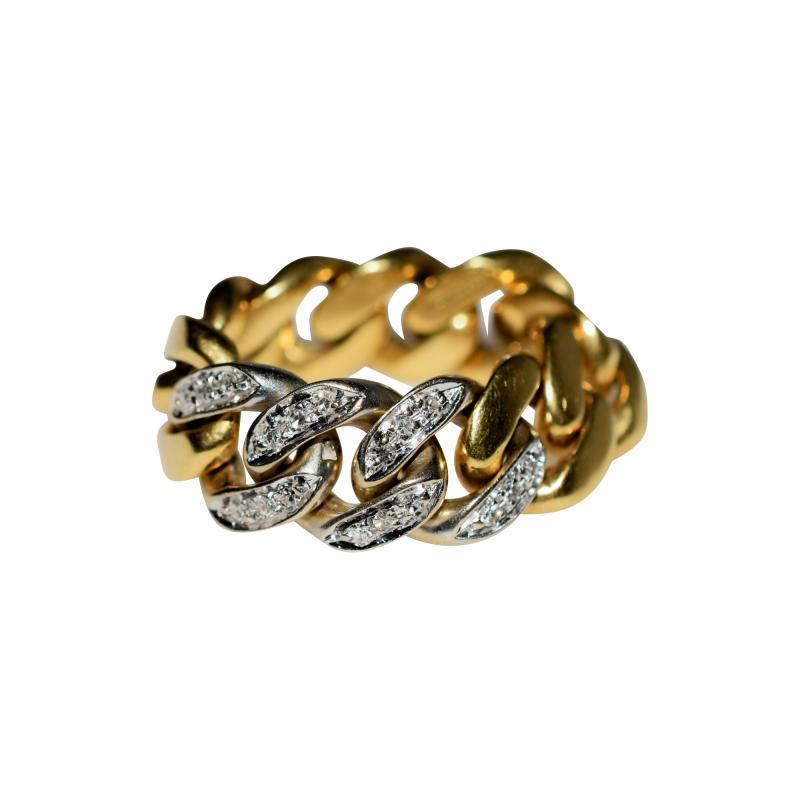 Tiffany Co Tiffany Chain Ring