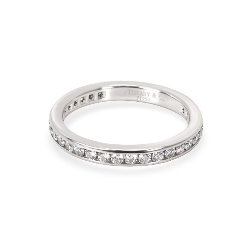 Tiffany Co Tiffany Co Channel Diamond Wedding Band in Platinum 0 40 CTW