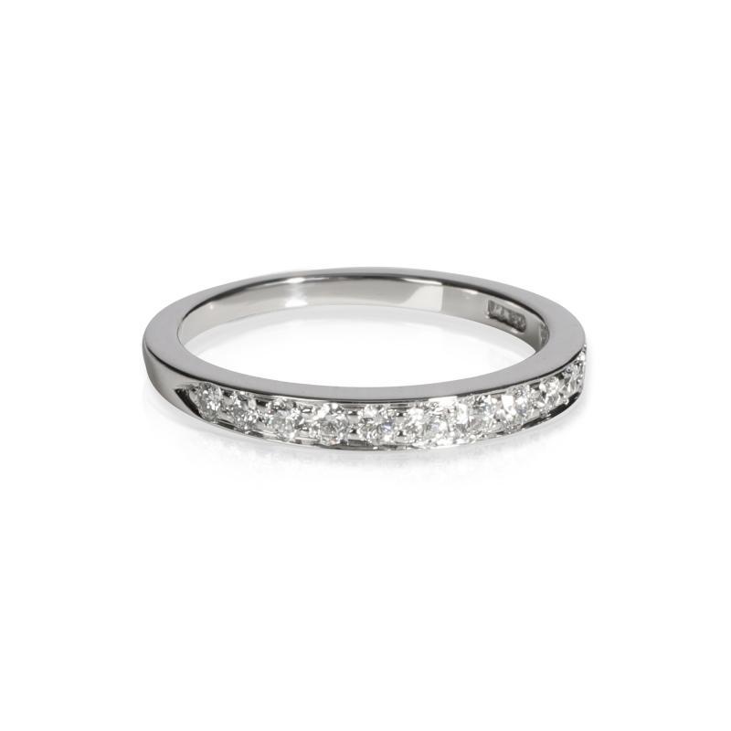 Tiffany Co Tiffany Co Diamond Wedding Band in Platinum 0 33 CTW