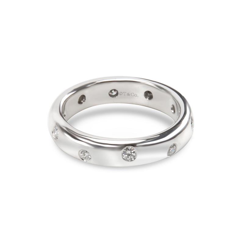 Tiffany Co Tiffany Co Etoile Diamond Fashion Ring in Platinum 0 14 CTW
