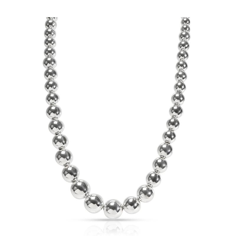 Tiffany Co Tiffany Co Hardware Ball Necklace in Sterling Silver