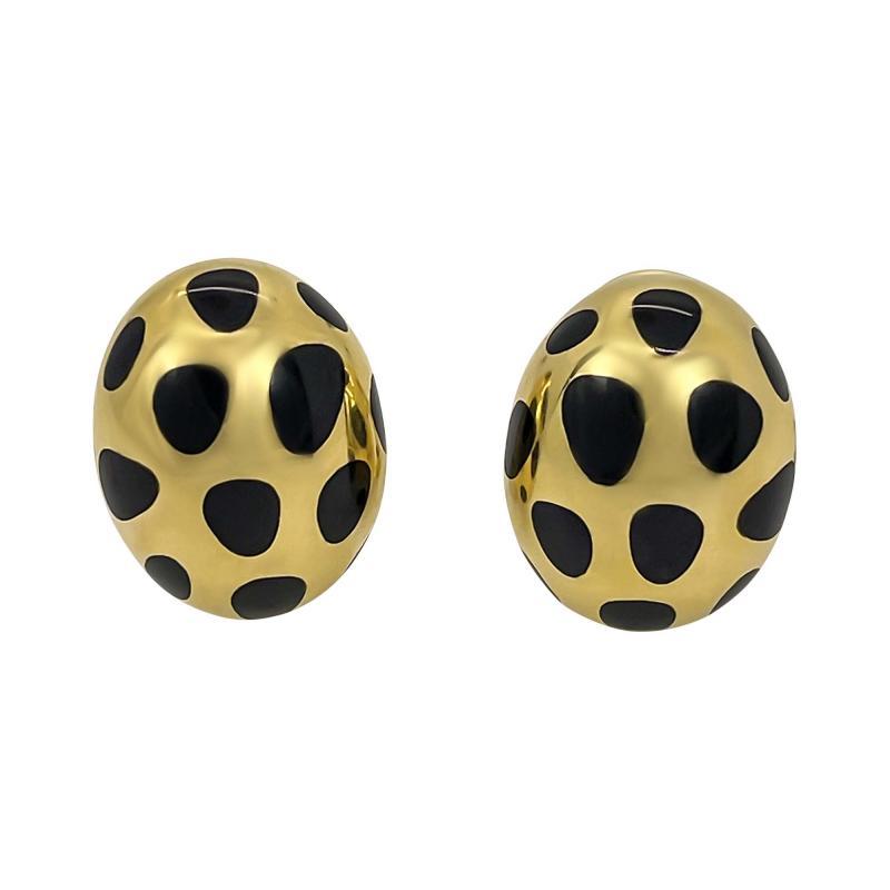 Tiffany Co Tiffany Co Leopard Pattern Earrings