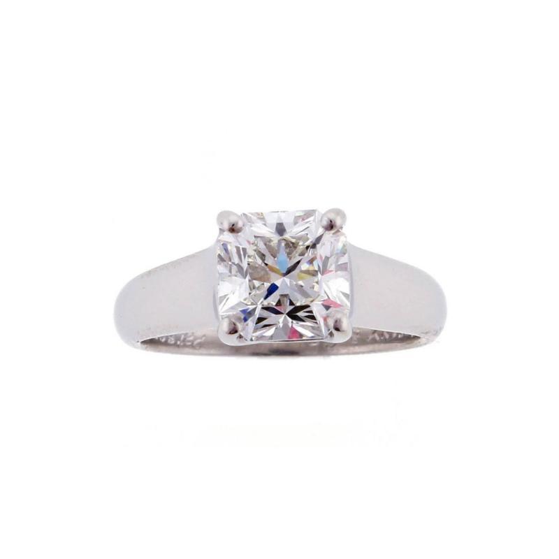Tiffany Co Tiffany Co Lucida 1 90 Carat Diamond Platinum Ring