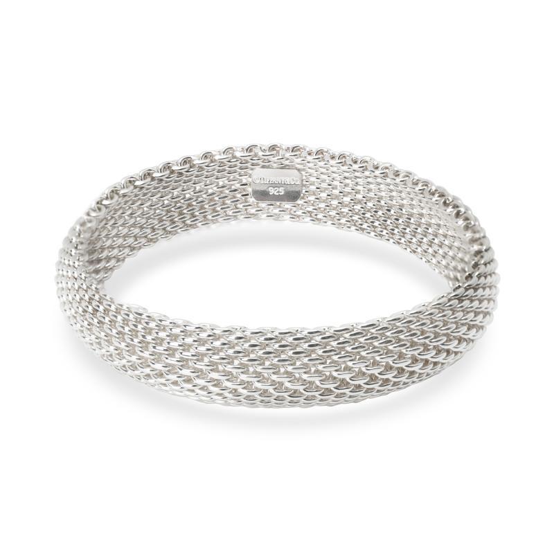 Tiffany Co Tiffany Co Somerset Mesh Sterling Silver Bracelet
