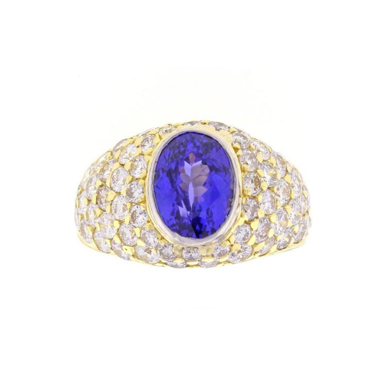 Tiffany Co Tiffany Co Tanzanite and Diamond Ring