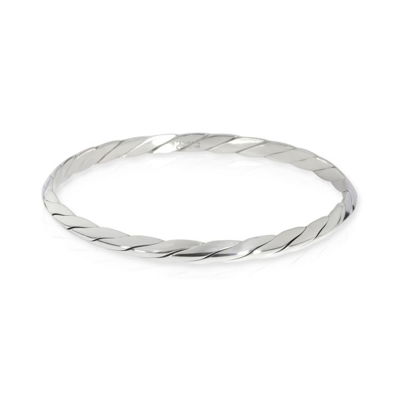 Tiffany Co Tiffany Co Vintage Twisted Rope Bangle in Sterling Silver