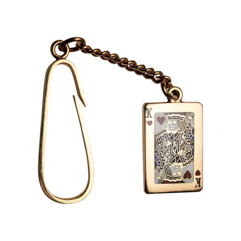 Tiffany Co Tiffany King of Hearts Key Chain