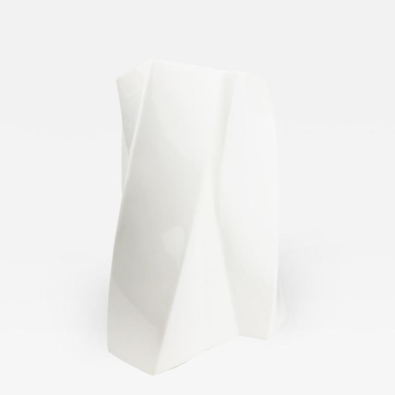 Tiffany and Co Frank Gehry Torque Vase for Tiffany Co